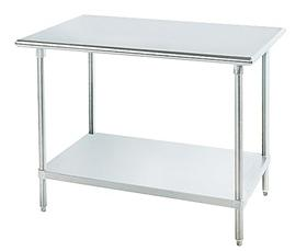 SS SERIES STAINLESS STEEL WORKTABLES